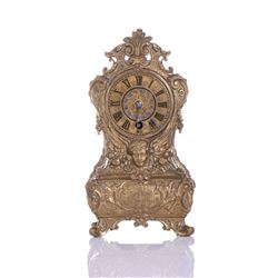 Rare 19th Century Austrian Brass Ormolu Mantle