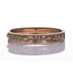 Vintage WMc 14k Gold Filled Bracelet.