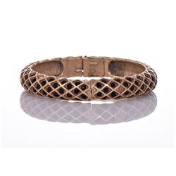 Vintage Florenza Gold Tone/Plated Bracelet.