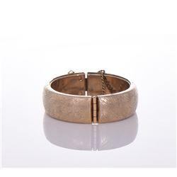 Vintage Hong Kong Gold Tone/Plated Bracelet.