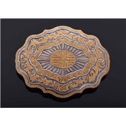 Crumrine Heavy Silver Plated Jewelers Bronze