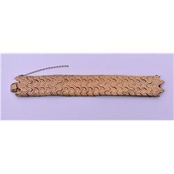 Vintage Gold Tone/Plated Bracelet. Estimated