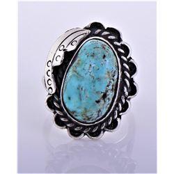 H. Slim, Navajo Native American Sterling Silver