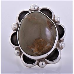 Chimney Butte, Brown Jasper Sterling Silver