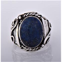 Native American Navajo Lapis Lazuli Sterling
