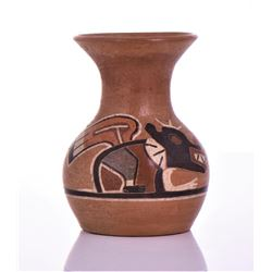 Southwest Hand Painted Polychrome Pottery.