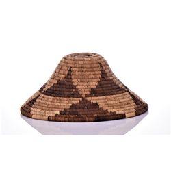 Native American Weaved Basket. Estimated more