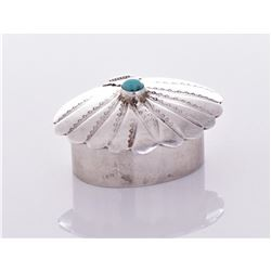 Native American Sterling Sliver Turquoise