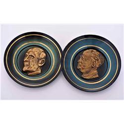 Chaim Weizmann And David Ben Gurion Bronze/