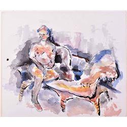John Gould (1929 - 2010) Artist signed 1989