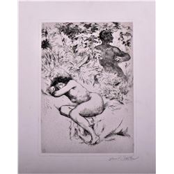 Armand Berton (Paris 1854-1927) , artist