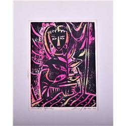 Lewis J. Miller Mid-Century Modern Abstract