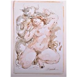 Charles Burdick (1924-2016), American Artist,