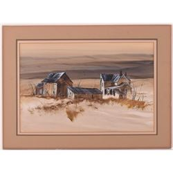 Ed (Edward) Gifford (1927 - 1998) Artist sign