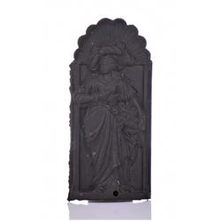 France, Bronze Plaque Of A French Queen