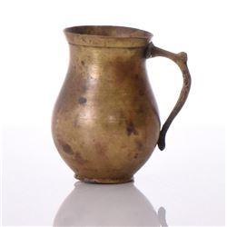 European Brass Mug. Estimated more than 100