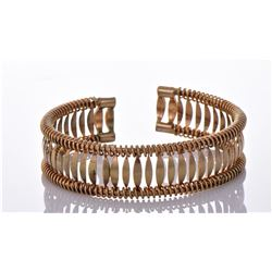 Vintage Gold Tone/Plated Art Deco Style Bangle
