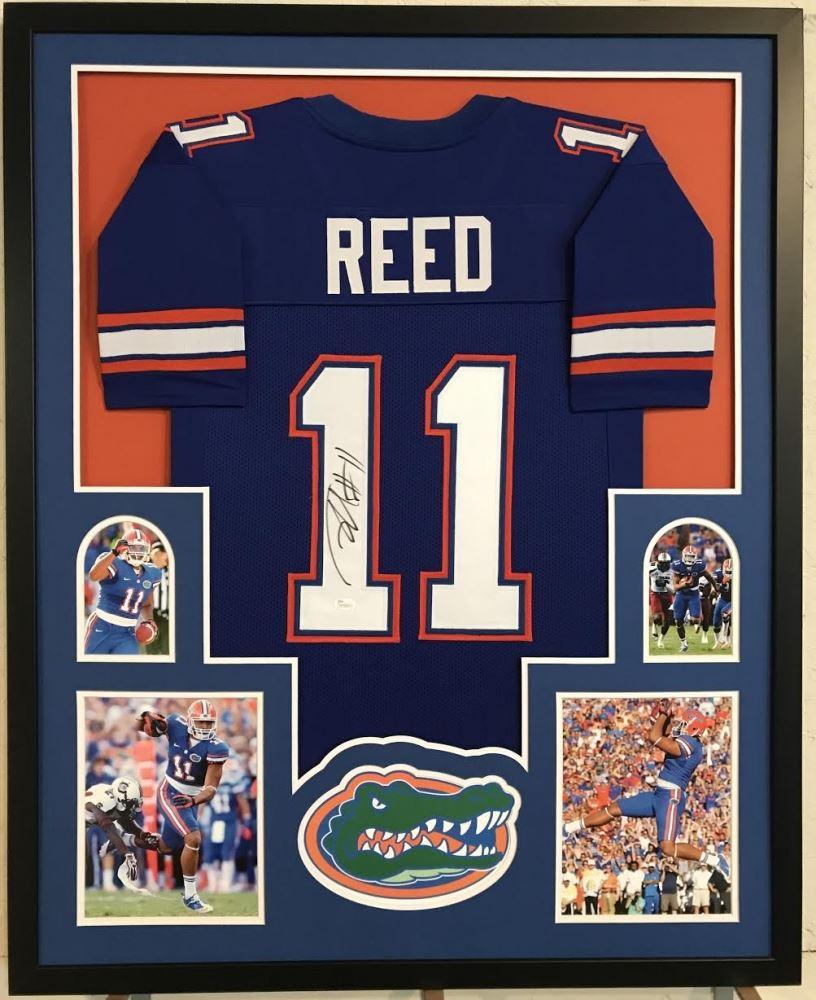 new concept 315d7 1ca2d Jordan Reed Signed Florida Gators 34