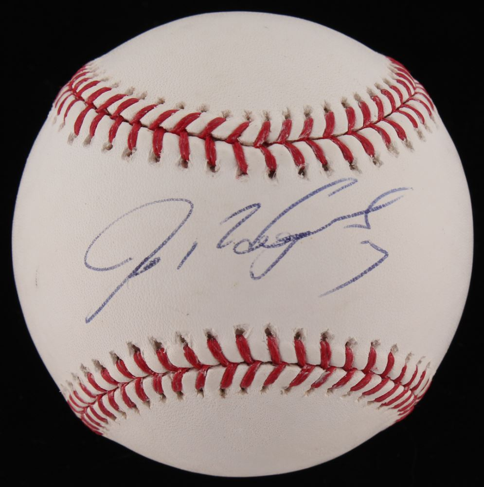 Ivan Rodriguez Autographed Signed Mlb Gold Glove Award Baseball Ball Jsa Coa Sports Mem, Cards & Fan Shop