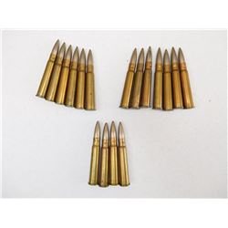 ASSORTED LOT OF MILITARY ERA .303 AMMO  SOME WITH BROAD ARROW MARKS DATED 1940-41-42
