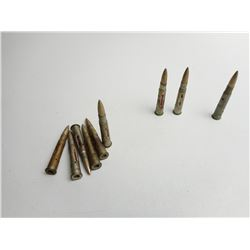 ASSORTED LOT OF MILITARY ERA .303 DRILL RNDS DATED 1916-1923