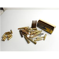 ASSORTED AMMO WITH MILITARY AMMO