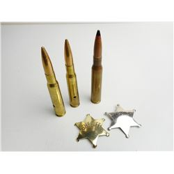 50 CAL. AMMO & TRENCH ART