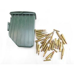 ASSORTED AMMO & CASE