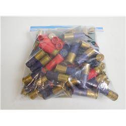 ASSORTED LOT OF 12 GAUGE SHOTGUN SHELLS VARIOUS SHOT SIZES