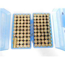.38 SPL RELOAD AMMO IN PLASTIC CASES