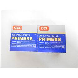 CCI 300 LARGE PISTOL PRIMERS