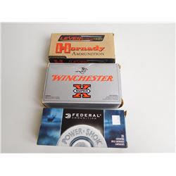 ASSORTED RNDS OF 45-70 FACTORY AMMO INCL FEDERAL, HORNADY AND WINCHESTER