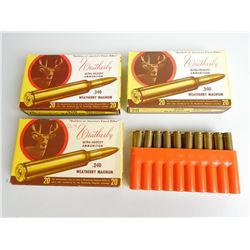WEATHERBY .240 MAGNUM 70-100 GR AMMO