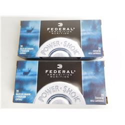 FEDERAL 243 WIN 80 GR SOFT POINT AMMO