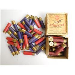 ASSORTED LOT OF 16 GA PAPER SHOTGUN SHELLS
