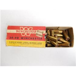 38-40 WINCHESTER FACTORY AMMO