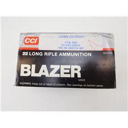CCI BLAZER .22 LONG RIFLE 40GR HIGH VELOCITY AMMO
