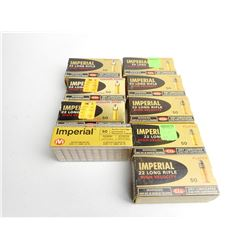 IMPERIAL 22 LR/ SHRT  HIGH VELOCITY PLATED AND HOLLOW POINT AMMO