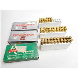 ASSORTED RNDS OF 300 SAVAGE 150-180 GR AMMO