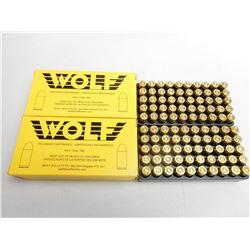 WOLF RELOAD 9MM 124 GR TMJ AMMO