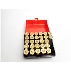 ASSORTED LOT OF 16 GA X 2 3/4 SHOTGUN SHELLS IN PLANO PLASTIC HOLDER