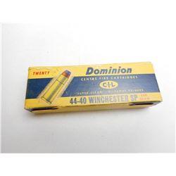 DOMINION 44-40 WINCHESTER SP 200 GR