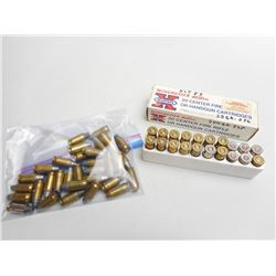 ASSORTED LOT OF 44 REM AND 45 AUTO RELOAD AMMO