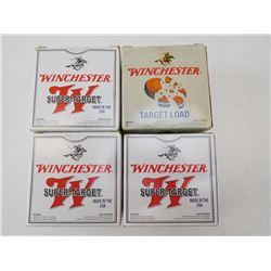 WINCHESTER SUPER-TARGET AND TARGET LOAD 20 GA X 2 3/4 7 1/2 SHOT SIZE SHOTGUN SHELLS