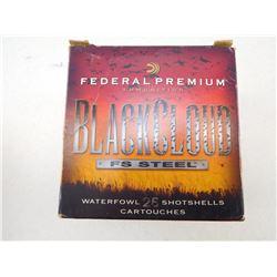 FEDERAL BLACKCLOUD 12 GA X 3 1/2 WATERFOWL BB SHOT, SHOTGUN SHELLS