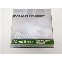 REMINGTON NITRO-STEEL 12 GA X 3 1/2 BB SHOT HIGH VELOCITY MAGNUM SHOTSHELLS