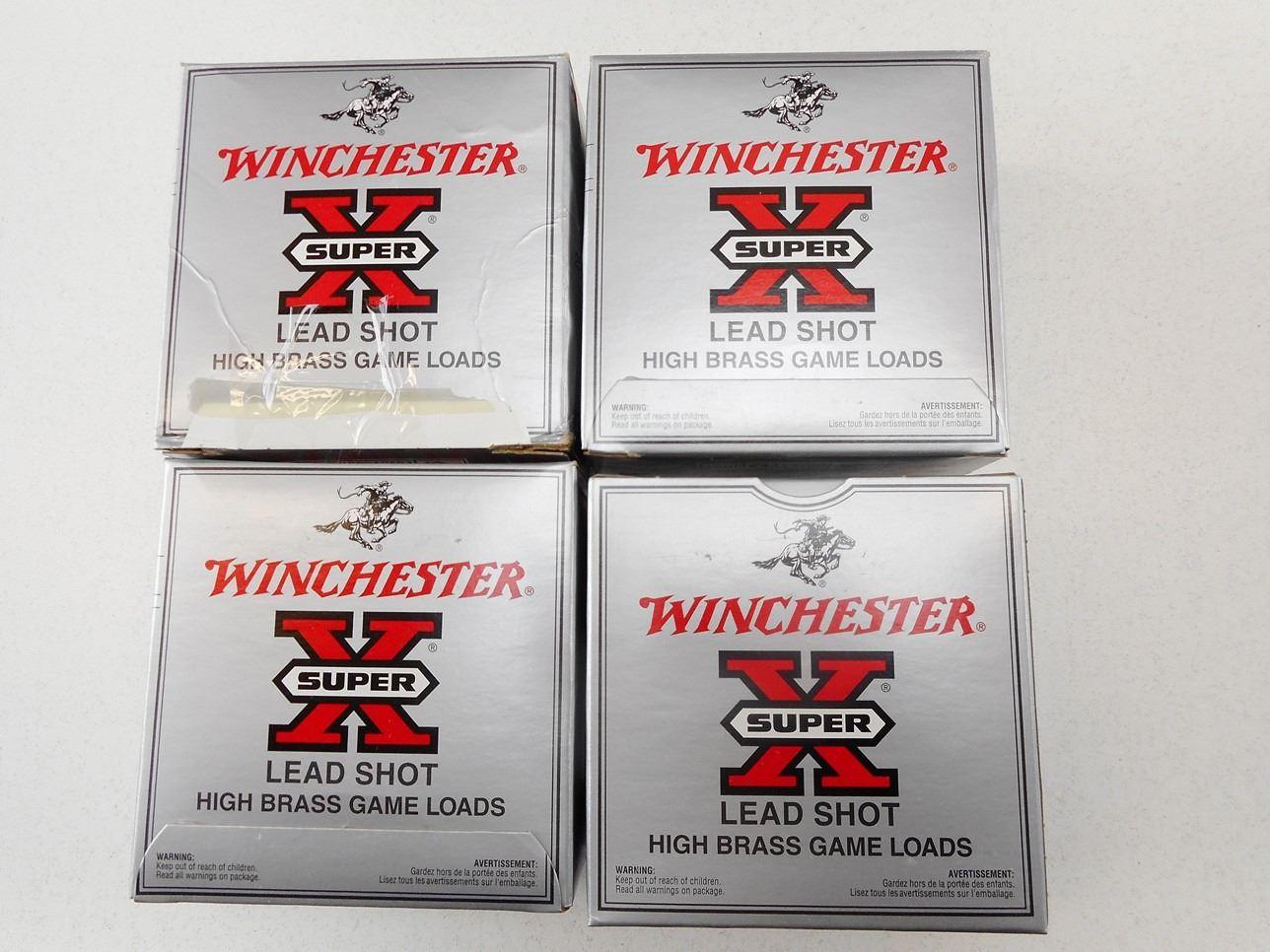 2cf702bcf117 winchester high brass game load lead shot 12 ga x 2 3 4  6 shotshells