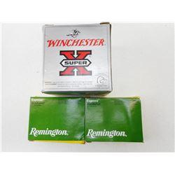 ASSORTED LOT INCLUDING WINCHESTER DRYLOK AND REMINGTON MAG BUCKSHOT, # 3 STEEL SHOT 12GA X 3 1/2 SHO