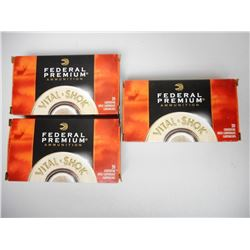 FEDERAL PREMIUM 270 WIN 130 GR AMMUNITION AND CASES
