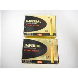 IMPERIAL 7 MM MAUSER 160 GR KKSP AMMUNTION
